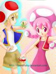 .:Toad & Toadette:.